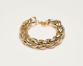 Chunky Bracelet - Gold