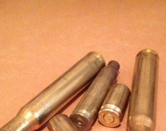 Brass Bullet Casings, Brass Bullet Shells - Mixed