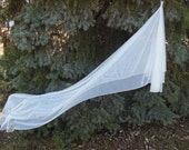 English Net Chapel Length Wedding Veil Mantilla Drop Veil Pencil Edge