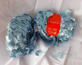 Yarn Sale  -  Powder Blue  Channel by Feza