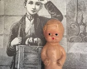 The Lost Years Another Carnival Doll Penny Doll 1930 Old Carnival Prize Antique Dolls Collector Old Doll Antique Doll Miniature Antique Doll