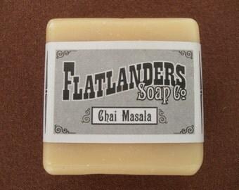 Chai Masala Handmade Soap - Medium