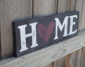 Distressed Wooden Signs - Rustic Home Decor, Wall Art, Wood Sign Quote, Wall Decor, Home Accents, Wedding Gift