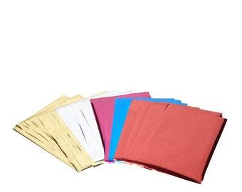 HEAT PEN FOIL REFILLs -  Assorted Foil SHEETs in Multi COlors - BRaND NeW !!