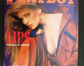 Playboy Magazine:  February, 1986