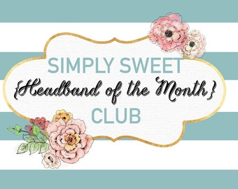 Headband of the Month Club - 3 Month Subscription