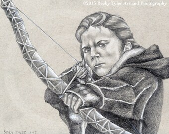 Ygritte, Game of Thrones,  Drawing