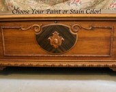 Antique Cedar Chest - Stain or Paint to Order