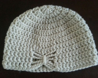 Girl's crochet butterfly beanie/hat