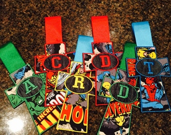 Superhero Cross Bookmark