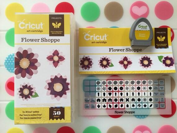 Flower Shoppe Cricut Cartridge Pre-owned
