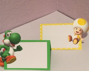 Super Mario Brothers Food/ Dessert Cards