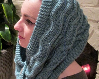 KNITTING PATTERN: Saratoga Cowl, Instant PDF Download