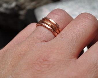 Stackable Copper Rings