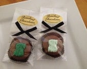12 Chocolate Dollar Sign Money Oreo Cookies Candy Party Favors