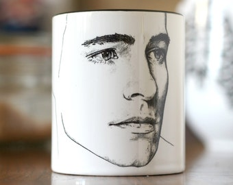 Limited Edition, Colton Haynes, Arrow, Green Arrow, Roy Harper, Teen Wolf, San Andreas, hand printed Cup