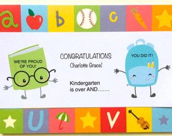 Kindergarten Graduation Card-End Of School Year Card