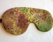Colorful Batik adjustable sleep mask  - eye mask