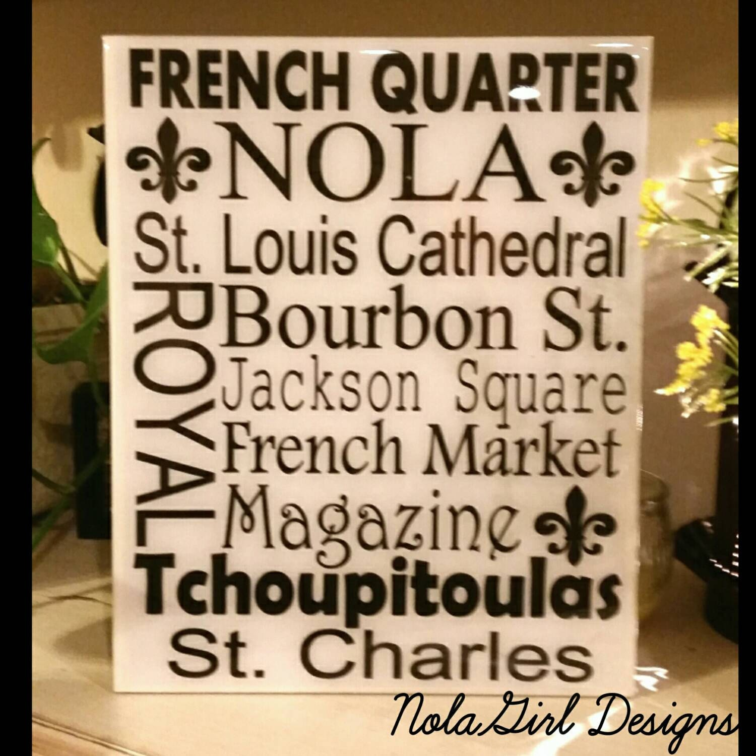 Home Decor New Orleans: New Orleans, Streets, Places, Decorative Tile, Nola