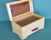 Timber Jewelley Box