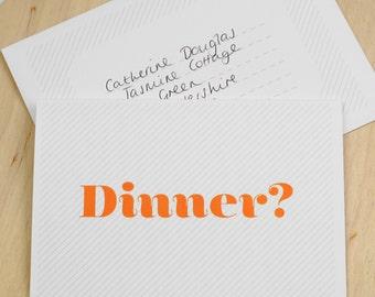 Invitation Card - Let's Do Dinner