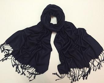 Indigo pashmina scarf, indigo pashmina shawl, indigo fashion scarf, pashmina scarf, pashmina shawl, scarf, shawl