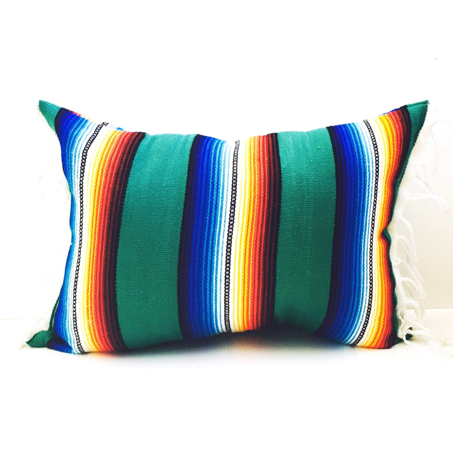 Mexican Blanket Pillow / Urban Outfitters Decor / Summer