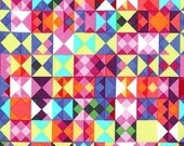 Michael Miller Fabrics Geometrics What's Your Angle? Multi - 1 Yard