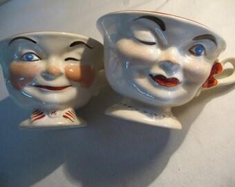 Cup Mr & Mrs 1950.Mug England Ridgway, england