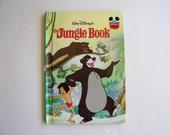 The Jungle Book Disney's Wonderful World of Reading Hardbound book, Children's Book, Story Book, Disney Book