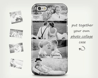 Wedding iPhone 6 case, Photo case, iPhone 5 case, personalized case, iPhone 7 case, custom photo case, Samsung Galaxy cases, Wedding gifts
