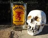 Fireball Cinnamon Whisky Bottle Vase