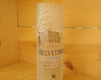 Belvedere Vodka Bottle Vase