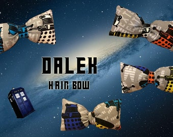 Dr. Who Dalek Hair Bow