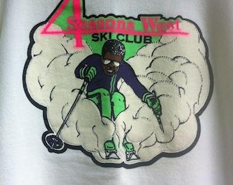 Retro ski sweatshirt from '95