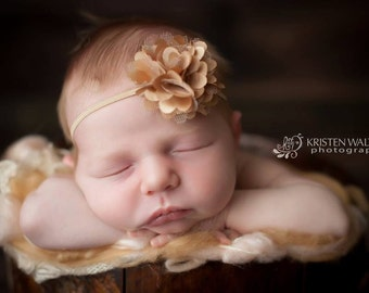 FREE SHIPPING! Gold Baby Headband, Gold Headbands, Headbands Gold, Newborn Headbands, Baby Headband, Baby Girl Headbands