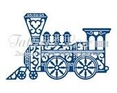 Tattered Lace Die Vintage Train