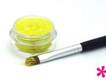 yellow glitter lips - photo #19