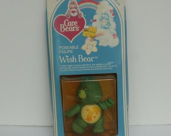Care Bear Wish Bear Poseable 1982 Original in Box