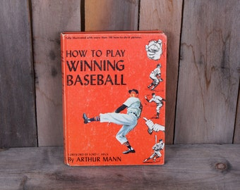 1953 How To Play Winning Baseball Game Sport Opening Day Book