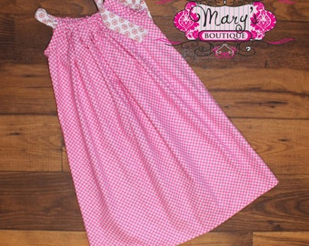 4t Hot Pink Pillowcase dress