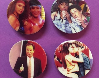 Im so Excited! Magnets! - Set of 4 Saved by the Bell Magnets