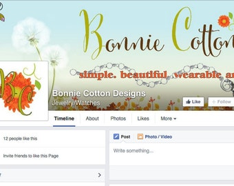 Custom FB Cover and Profile Image for FB Timeline