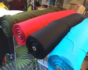 Rayon fabric by the yard
