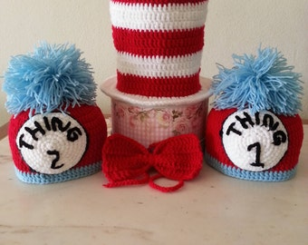 Dr Seuss inspired crochet collection