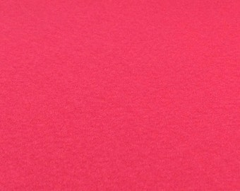 Shocking Pink Felt Sheets - 6 pcs - Rainbow Classic Eco Fi Craft Felt Supplies