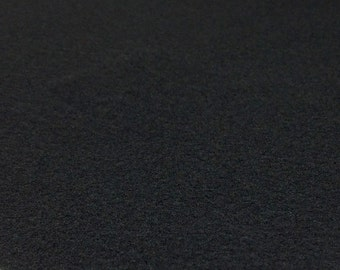Black Felt Sheets - 6 pcs - Rainbow Classic Eco Fi Craft Felt Supplies