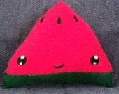 Felt Watermelon Fruit Food Plushie / Plush Toy