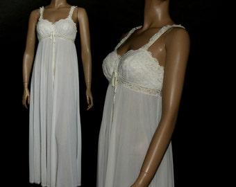 Vintage 1950s Gown Art Deco Dress Bombshell Sexy Sex Kitten Femme Fatale Pinup Viva Las Vegas Burlesque Honeymoon