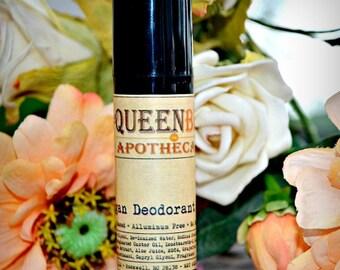 COCONUT BOURBON - Natural Vegetable Protein Deodorant  - Vegan - No Aluminum